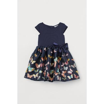 H&M  Trang phục trẻ em mùa hè  Quần áo trẻ em HM Váy cho bé gái 2019 Mùa hè Váy mới loe 0761821