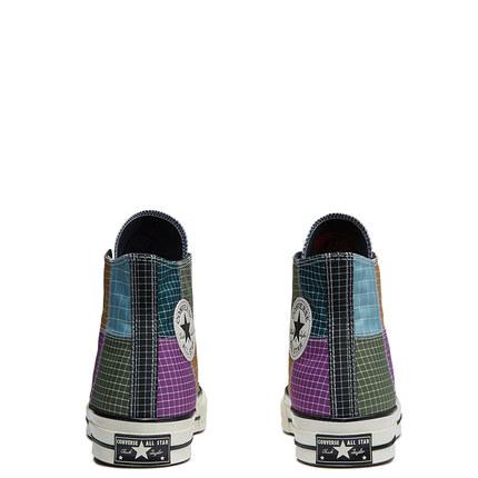 CONVERSE giày vải CONVERSE Official Chuck 70 Giày vải kẻ sọc tương phản giản dị retro cao cấp 166317