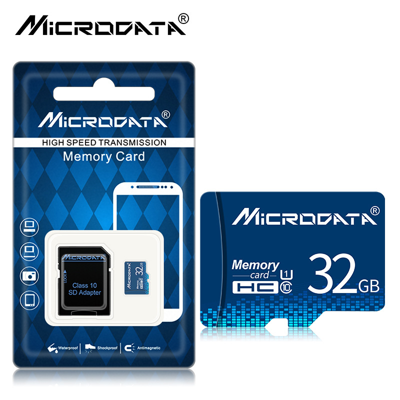 Thẻ nhớ TF lưu trữ MicroData /Dung lượng bộ nhớ: 16GB
