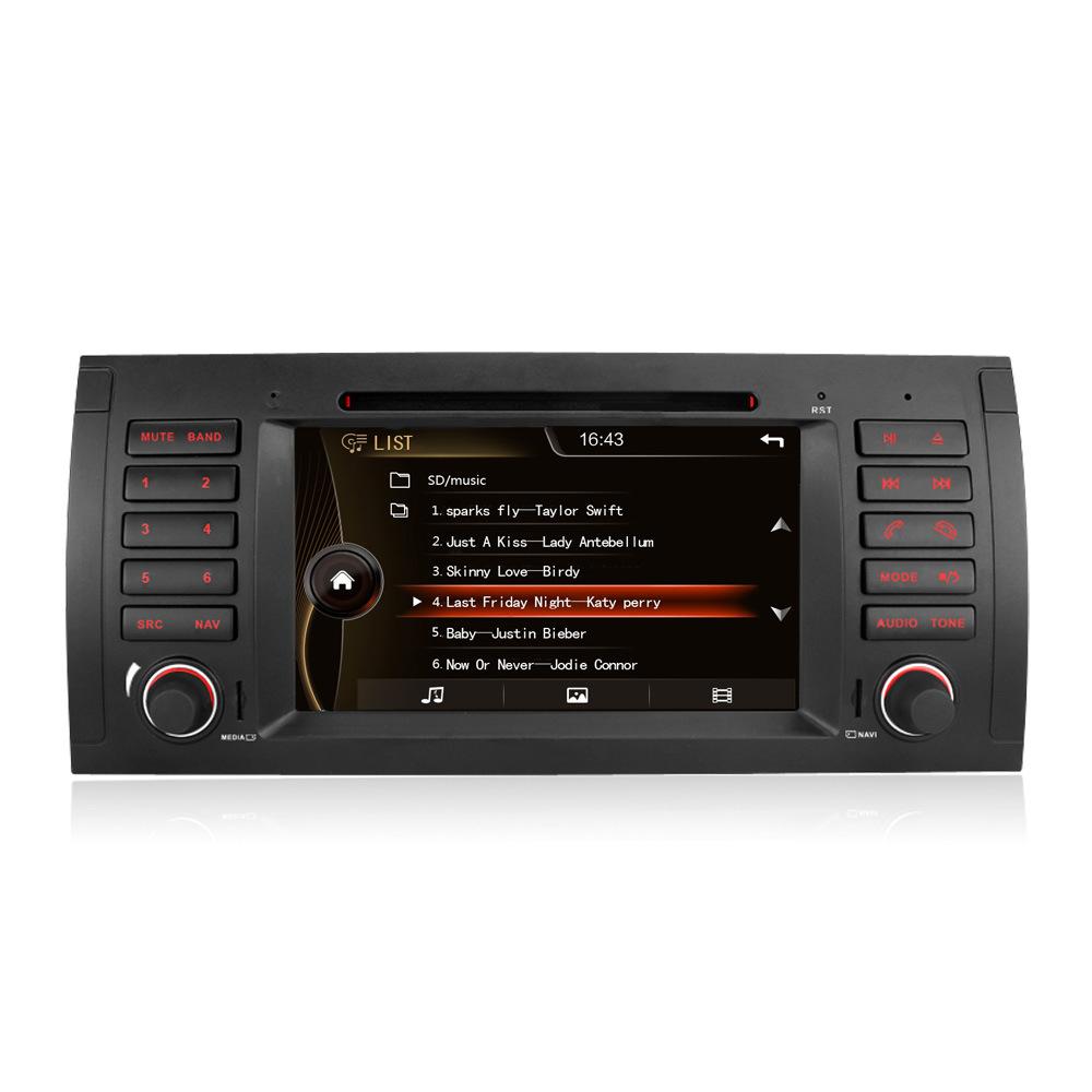 Điều hướng E39 Video xe hơi với TV, DVD, Radio ,BMW 5 Series xe nguyên bản dành riêng cho xe hơi