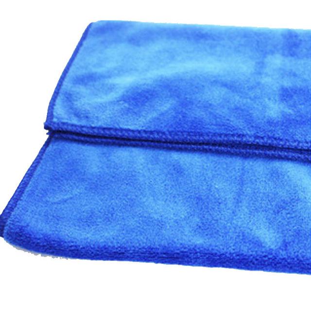 LANLONG Khăn lau xe 30 * 70 dày rửa xe microfiber khăn xe siêu thấm nước rửa mặt nhà máy trực tiếp b