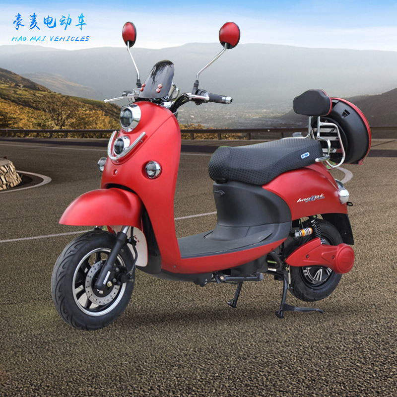XINLING xe môtô / xe máy Đèn đôi rùa vua trưởng thành xe điện điện cao cấp xe máy điện 48v60v xe máy