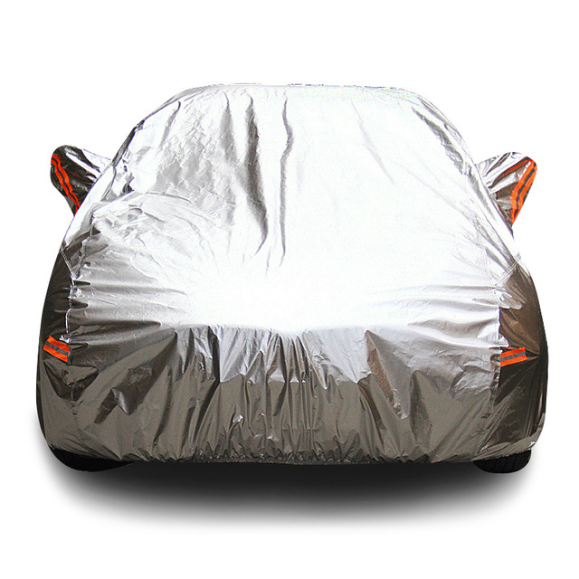 YUYIJIN Áo trùm xe hơi Nhà sản xuất bán buôn ô tô nhôm phim áo mùa hè che nắng xe che mưa Oxford vải
