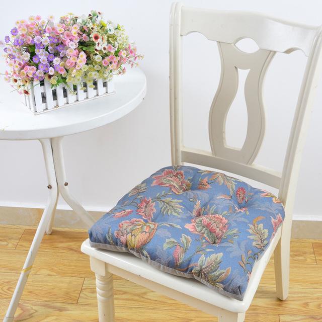KBXS Đệm massage Túi giúp phong cách châu Âu jacquard ghế ăn đệm dày bốn mùa phổ quát ghế gỗ rắn bán