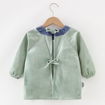 COCOTOWN Áo khoác Dài tay áo không thấm nước trẻ em ăn chống thay đồ bé gái mùa thu và mùa đông cash