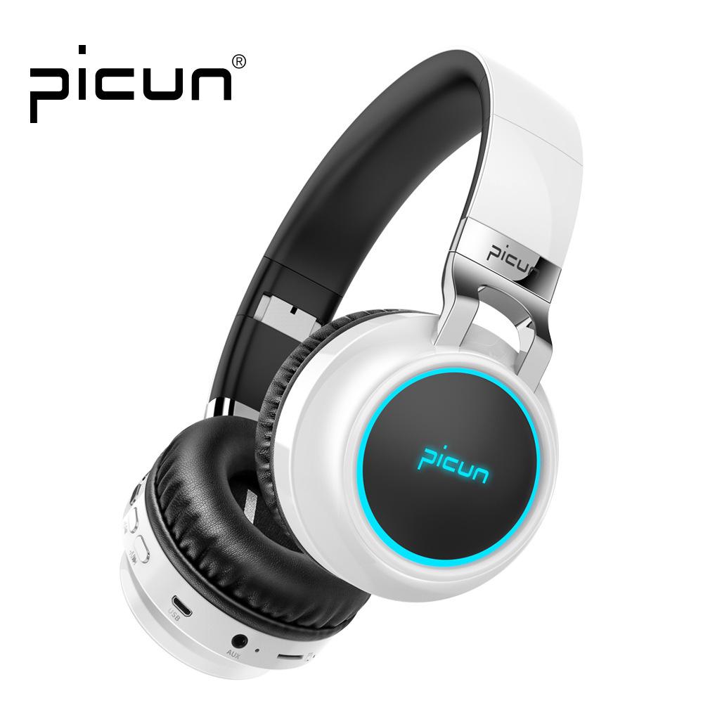 Tai nghe Bluetooth Picun P60 phiên bản phát sáng mới .