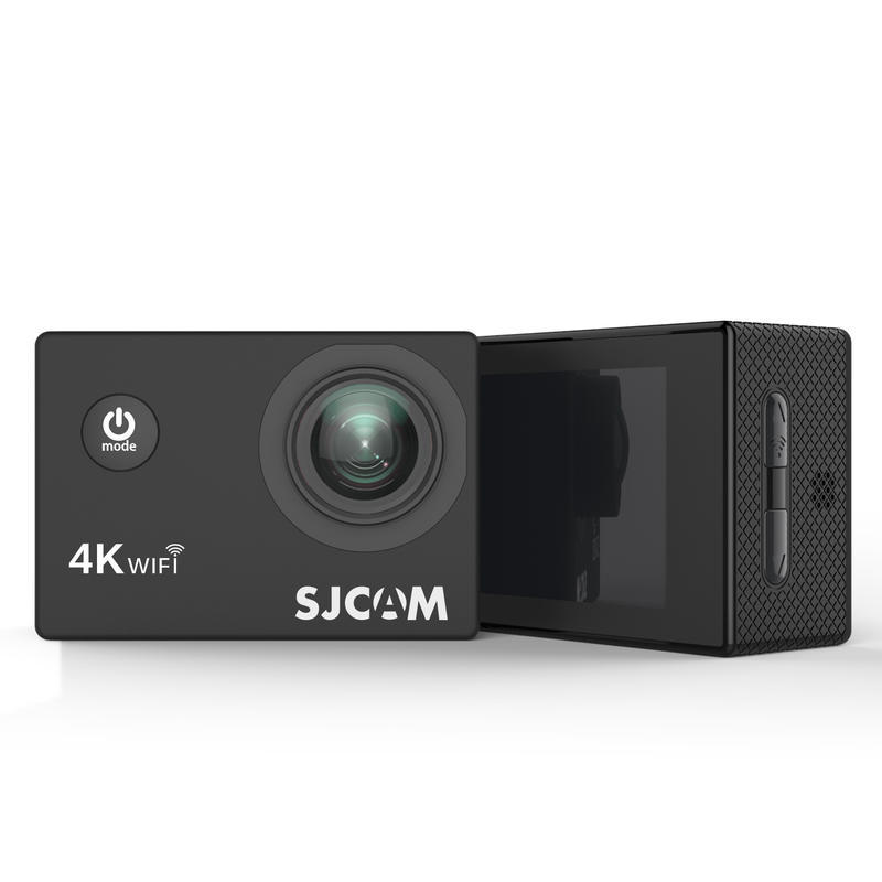 SJCAM Máy ảnh thể thao Chó núi SJCAM Máy ảnh thể thao SJ4000Air 4K HD WiFi Dưới nước Mini Camera kỹ