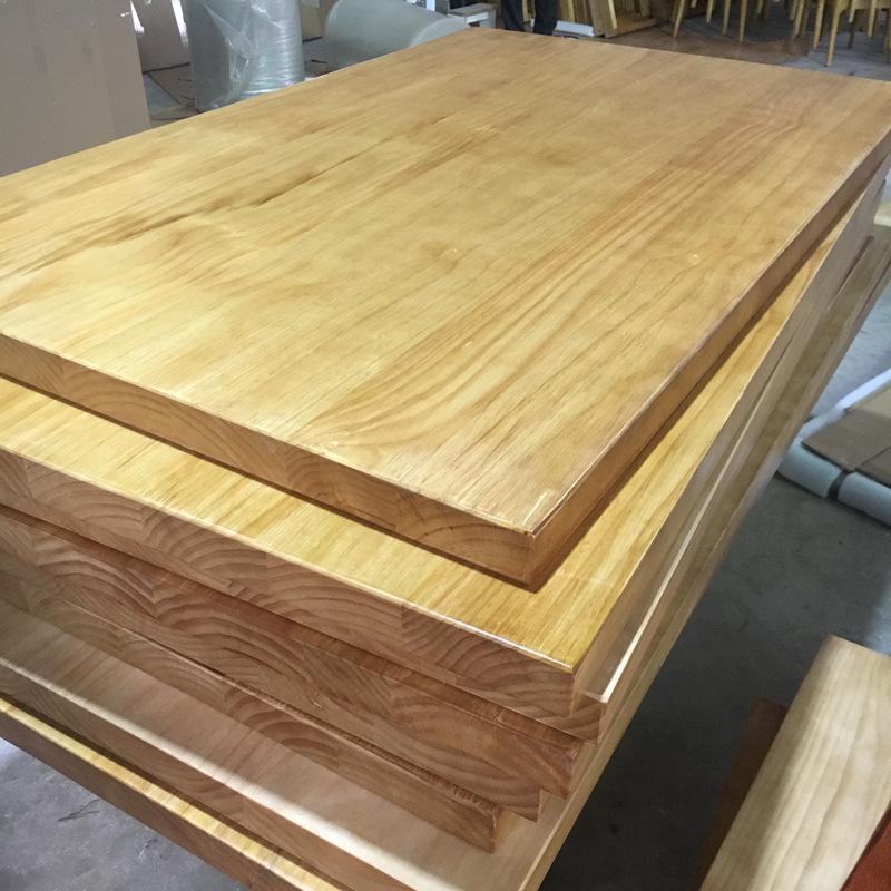 YUETONG Ván gỗ Bảng điều khiển gỗ rắn DIY tùy chỉnh hình chữ nhật tròn dài dày lên rỗng ra ban đầu b