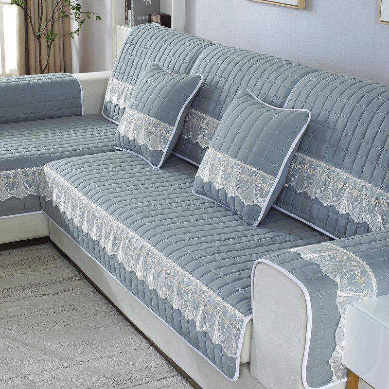 YJLP Đệm lót SoFa Bốn mùa sofa đệm chống trượt phổ quát Bắc Âu đơn giản hiện đại vải phòng khách phổ