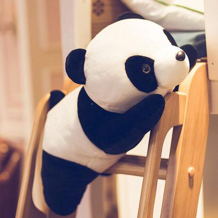 umesong  Búp bê vải  Búp bê gấu trúc sang trọng đồ chơi búp bê màu đen và trắng con rối gối búp bê c