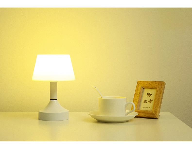 Đèn tường Thông minh điều khiển từ xa đèn ngủ bàn đèn phòng ngủ đầu giường có thể sạc lại giam cầm t