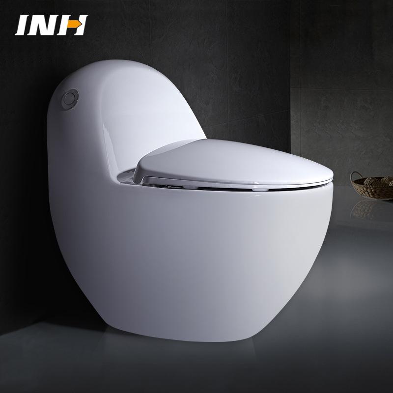 YINFAN - Bồn cầu nhà vệ sinh kiểu trứng khử mùi .