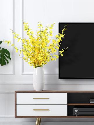 BHM Bình bông  Hiện đại tối giản sàn phòng khách sáng tạo cắm hoa trang trí trang trí nhà gốm hoa kh