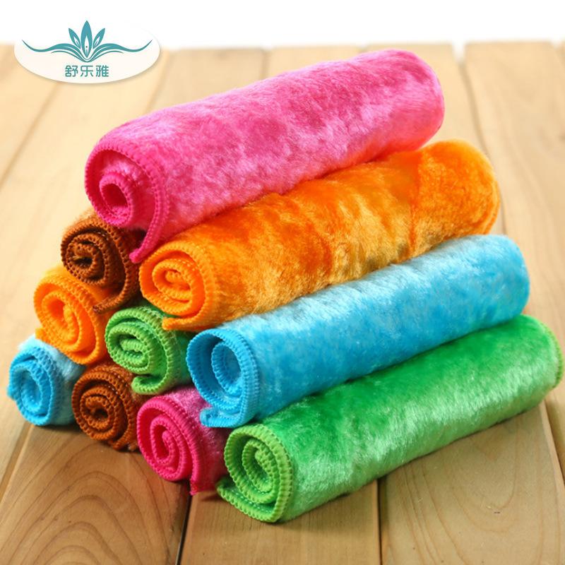 Shuleya Khăn rửa chén Khăn lau bằng gỗ sợi nhà bếp dày làm ẩm vải nhà máy vải tùy chỉnh logo ma thuậ