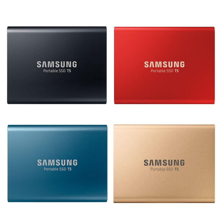 Samsung Ổ cứng SSD Ổ đĩa trạng thái rắn Samsung / Samsung T5 250G 500G 1TB 2TB Ổ cứng thể rắn 1t
