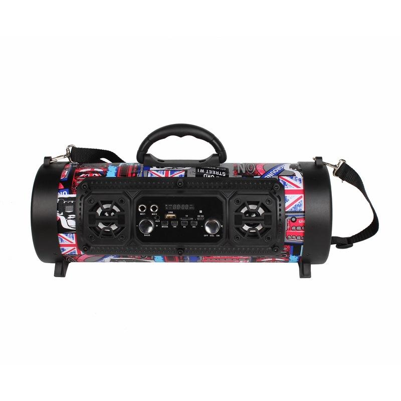 OEM Loa Bluetooth Súng nổ thương mại điện tử thùng loa Bluetooth loa không dây K bài hát chức năng l