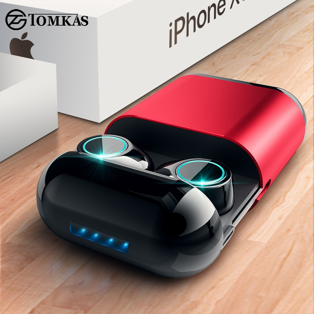 Tai nghe Bluetooth 5.0 / S7 cuộc gọi hai tai với sạc bin nhôm