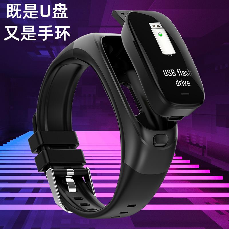 Vòng đeo tay thông minh Máy đếm bước thông minh Có thể đeo theo dõi nhịp tim Sức khỏe