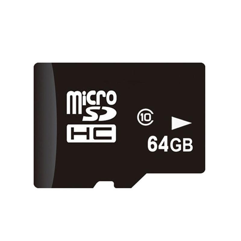 Thẻ nhớ TF (micro-SD) Dung lượng bộ nhớ: 64GB .
