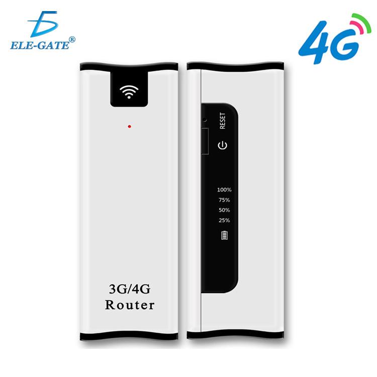 Thiết bị đọc thẻ internet không dây 3G / 4G sạc di động .