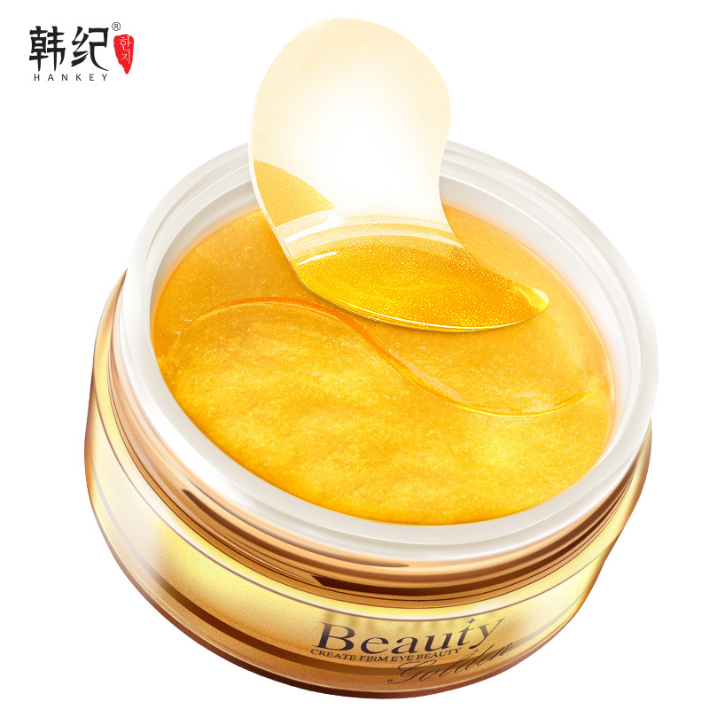 Hankey Mặt nạ mắt Han Ji Golden Lady Hydrating Eye Mask 60 Patch Lighten Eyes Dark Circles Chăm sóc