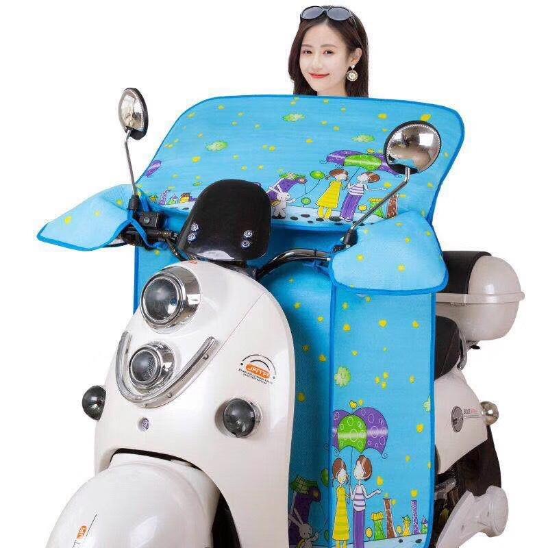 Tấm chắn gió Xe điện mùa hè kính chắn gió xe máy