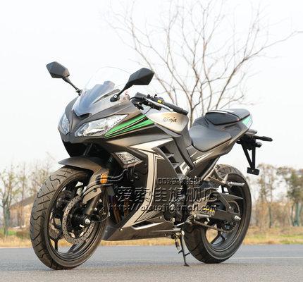 xe môtô / xe máy Little Ninja xe máy chân trời xe thể thao làm mát bằng nước 350 bên đường đua lớn