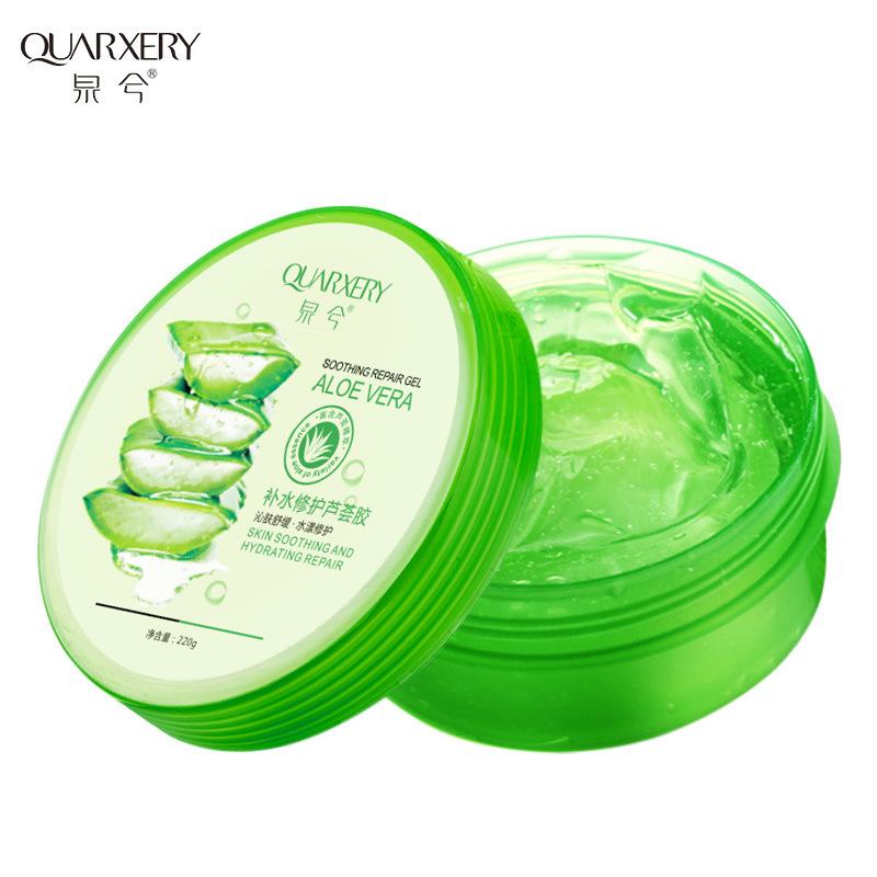 QUARXERY Mủ nha đam Quanxi Hydrating Repair Aloe Vera Gel dưỡng ẩm Sun Repair Nuôi dưỡng Aloe Collag