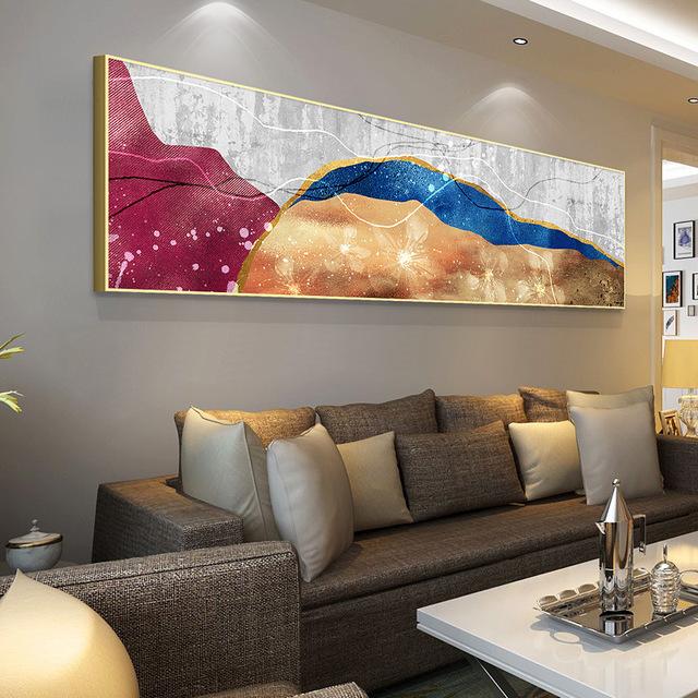 Ziyue Tranh trang trí Túi giúp khách sạn Ziyue trang trí đầu giường sơn phòng khách tranh tường băng