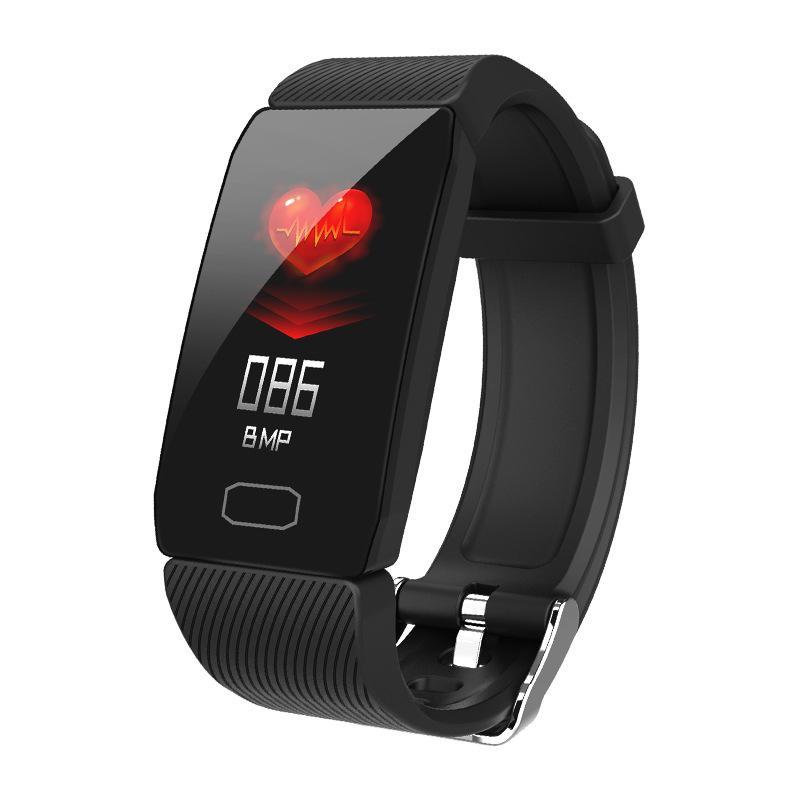 Vòng đeo tay thông minh Q1 1.14 tích hợp màn hình đo nhịp tim thể thao