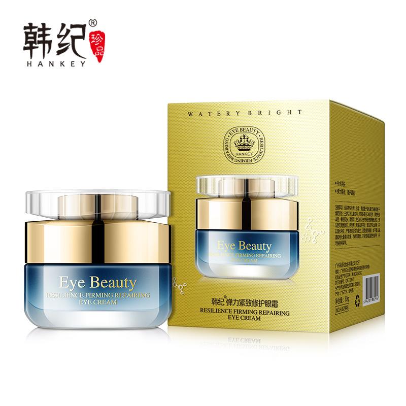 Hankey Kem dưỡng mắt Han Ji Elastic Firming Eye Cream 30g Làm dịu mắt Túi dưỡng mắt Dark Circles Làm