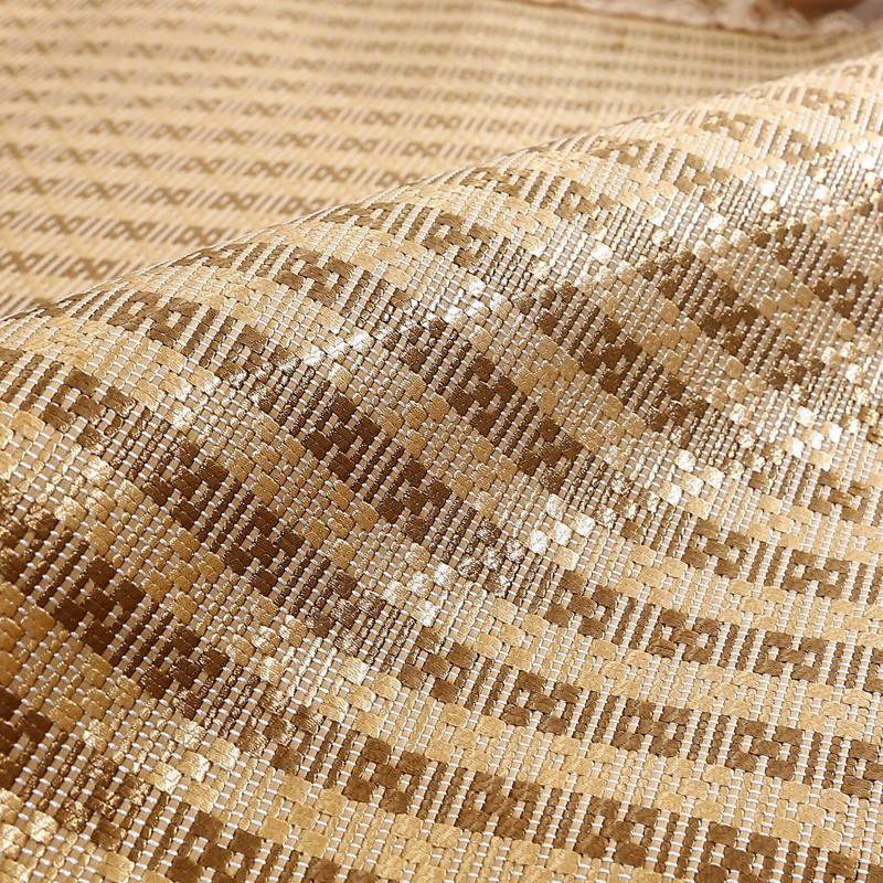 Châu Âu và Mỹ lưới màu đỏ mùa hè mat vải Sofa da châu Âu đệm mùa hè mát mat chống trượt băng đệm lụa