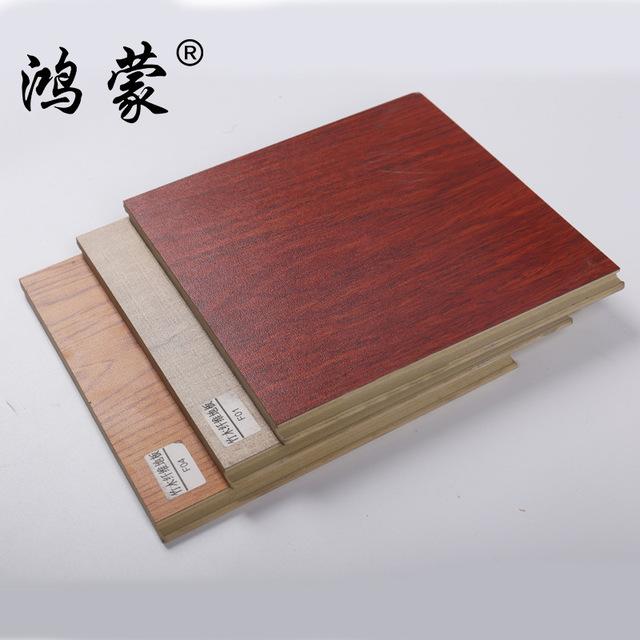 HONGMNEG Ván sàn Sàn gỗ sợi tre hộ gia đình sàn gỗ nhựa sưởi ấm gỗ rắn composite chống mài mòn dày c