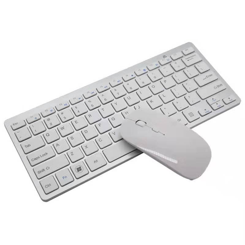 OEM Bộ bàn phím + chuột Bàn phím và chuột không dây 2.4G bộ bàn phím siêu mỏng Chuột không dây dành