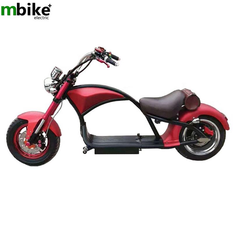 PUHALEI xe môtô / xe máy Xe điện Harley Harley đôi pin lithium xe tay ga dành cho người lớn di động