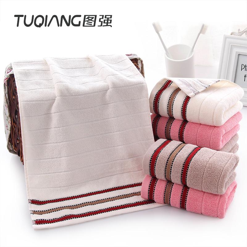 TUQIANG Thị trường khăn Tuqiang nhà máy bán buôn khăn bông mặt khăn satin