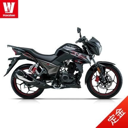 xe môtô / xe máy [Tiền gửi] Xe thể thao đường phố Haojue DF150 Xe máy Quốc gia IV 150 EFI Công cụ hi