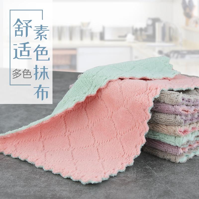 ZYJL Khăn rửa chén Nhà máy trực tiếp một trăm vải sạch giẻ lau nhà bếp khăn lau nhà công việc gia đì