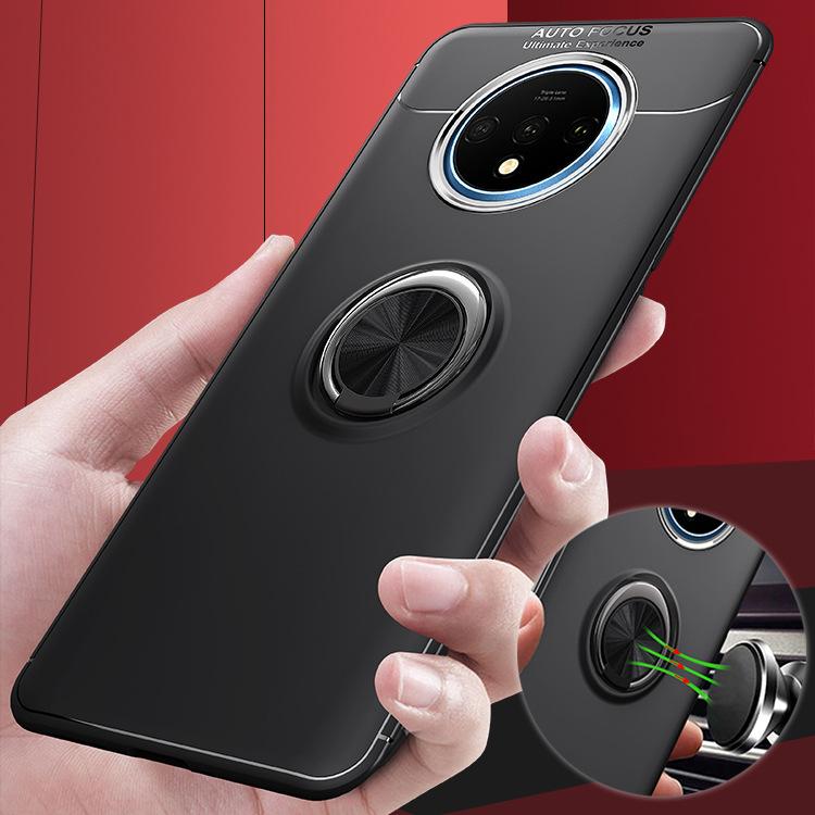C-KU bao da điện thoại một cộng với 7tpro vỏ điện thoại di động vòng từ khung TPU bảo vệ vỏ oneplus6