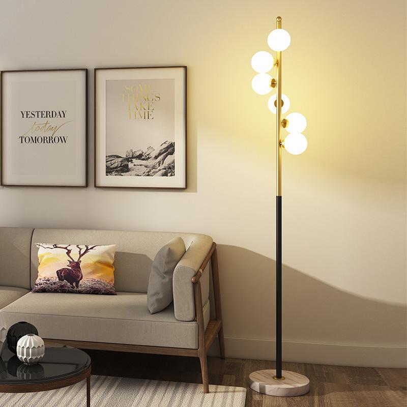 XIANGSHI Đèn âm đất Đèn sàn phòng khách đơn giản Bắc Âu homestay đầu giường đèn bàn khách sạn đèn sà