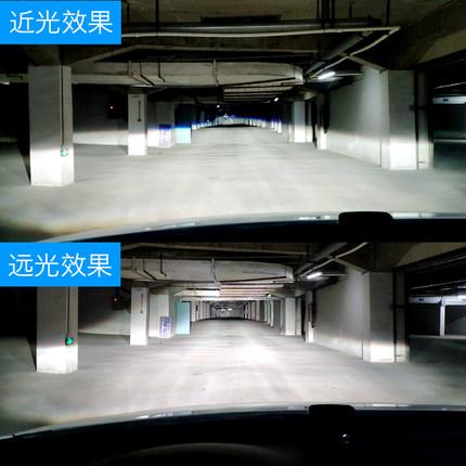 đèn xe  Đèn pha led xe với thấu kính h7h11h4 xa và gần ánh sáng tích hợp đèn chiếu sáng siêu sáng mạ