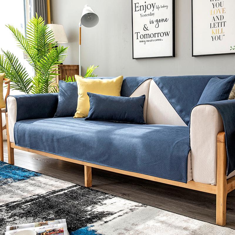 DONGMIAN Đệm lót SoFa Nhẹ nhàng đệm sofa bốn mùa phổ quát silicone chống trượt kết hợp nordic kết hợ