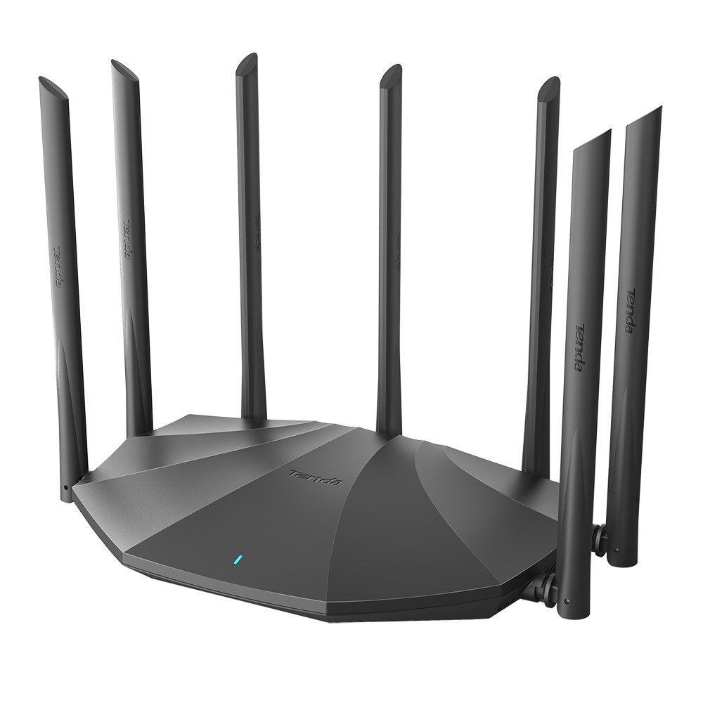 Tenda Modom Wifi Tenda AC23 Wireless WIFI Dual Band 5G Full Gigabit Phiên bản 2100M Smart Oil Rò rỉ