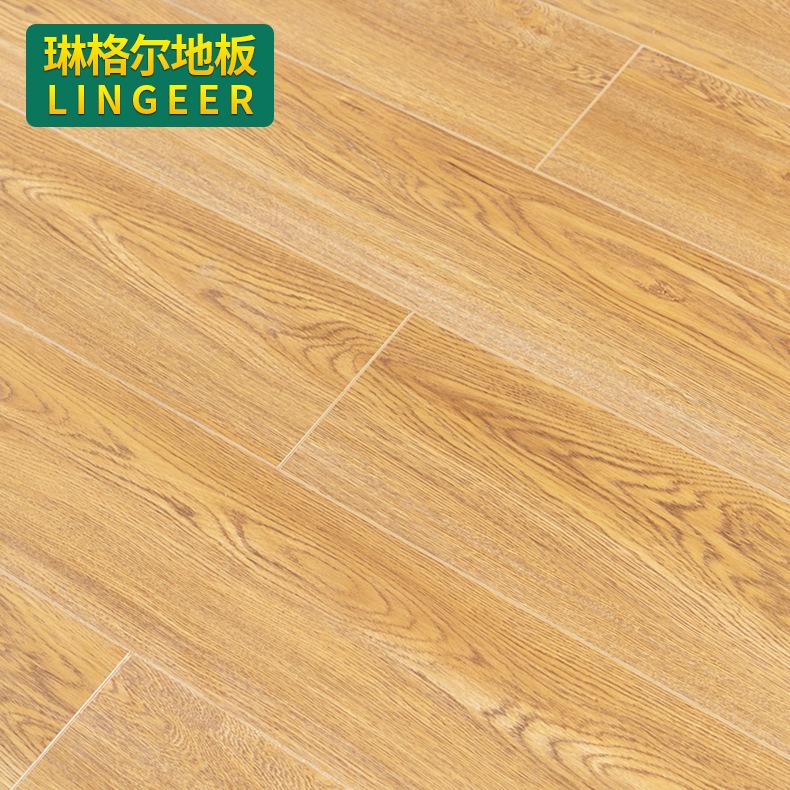LINGEER Ván sàn Các nhà sản xuất phát hiện nhiều lớp gỗ tổng hợp sàn gỗ 15mm cổ phù điêu chống mài m