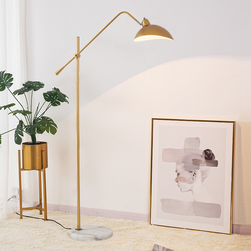 MENGBAI Đèn âm đất Đèn sàn phong cách châu Âu trang trí đơn giản phòng khách học phòng ngủ dọc điều