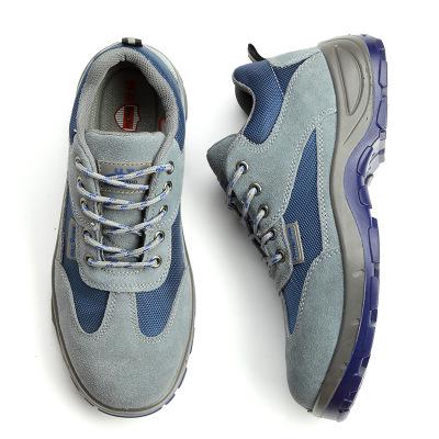 Giày da lộn thoáng khí có khả năng chống va đập .