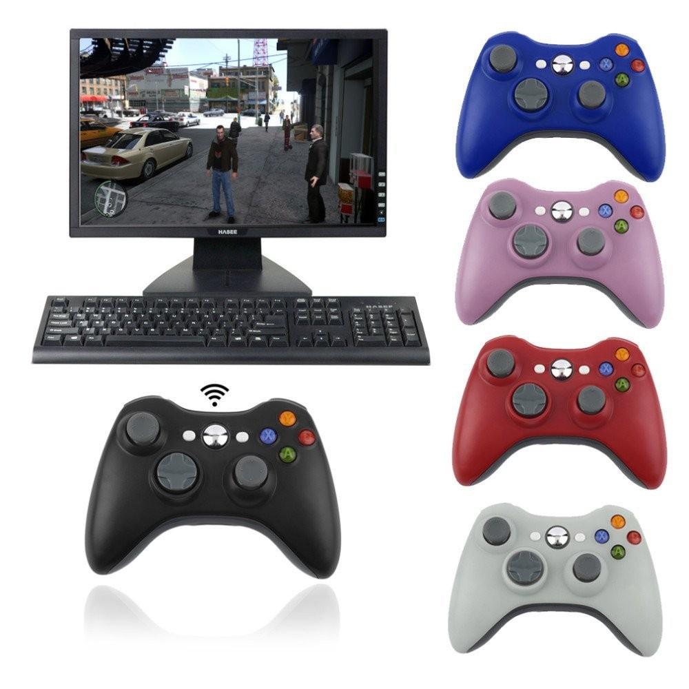 Bộ điều khiển trò chơi không dây cho máy tính pc xbox 360 2.4g