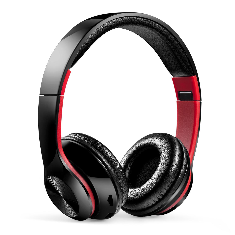 Tai nghe Bluetooth không dây nhiều màu mới có thể gấp lại.