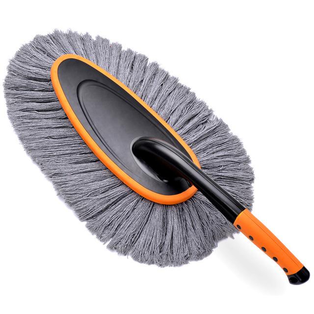 Bàn chải vệ sinh xe hơi sợi lông lớn .
