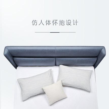 KUKa  giường  [Sản phẩm mới] Gu Nội thất gia đình Đơn giản Bắc Âu Microfiber Phòng ngủ giường đôi 1.